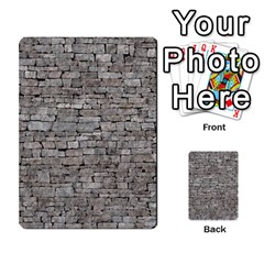 Stone Wall Grey Multi Purpose Cards (rectangle)