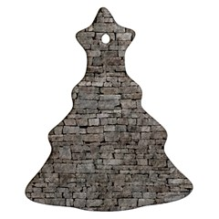 STONE WALL GREY Ornament (Christmas Tree)