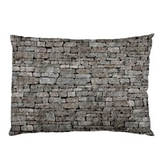 STONE WALL GREY Pillow Cases (Two Sides)