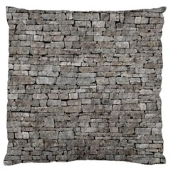 STONE WALL GREY Large Cushion Cases (Two Sides)