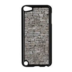 STONE WALL GREY Apple iPod Touch 5 Case (Black)