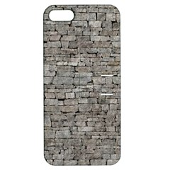 STONE WALL GREY Apple iPhone 5 Hardshell Case with Stand