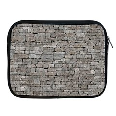 Stone Wall Grey Apple Ipad 2/3/4 Zipper Cases