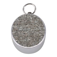 STONE WALL GREY Mini Silver Compasses