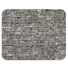 STONE WALL GREY Double Sided Flano Blanket (Medium)