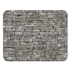 STONE WALL GREY Double Sided Flano Blanket (Large)