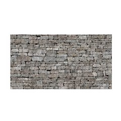 Stone Wall Grey Satin Wrap
