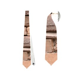 STONE WALL BROWN Neckties (One Side)