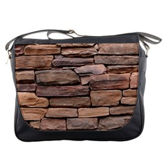 STONE WALL BROWN Messenger Bags