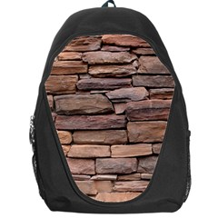 STONE WALL BROWN Backpack Bag