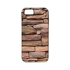 STONE WALL BROWN Apple iPhone 5 Classic Hardshell Case (PC+Silicone)