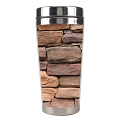 STONE WALL BROWN Stainless Steel Travel Tumblers