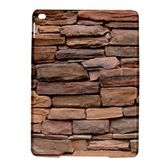 STONE WALL BROWN iPad Air 2 Hardshell Cases