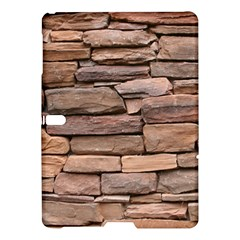 STONE WALL BROWN Samsung Galaxy Tab S (10.5 ) Hardshell Case