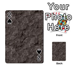Stone Playing Cards 54 Designs