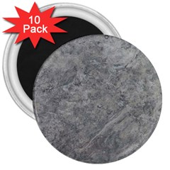 SILVER TRAVERTINE 3  Magnets (10 pack)