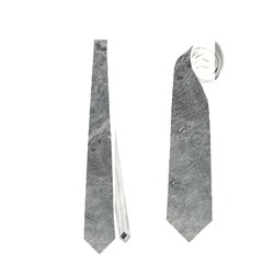 SILVER TRAVERTINE Neckties (One Side)
