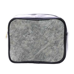 SILVER TRAVERTINE Mini Toiletries Bags