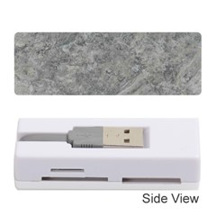 SILVER TRAVERTINE Memory Card Reader (Stick)