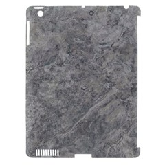 SILVER TRAVERTINE Apple iPad 3/4 Hardshell Case (Compatible with Smart Cover)