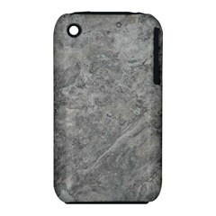 SILVER TRAVERTINE Apple iPhone 3G/3GS Hardshell Case (PC+Silicone)