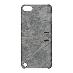 SILVER TRAVERTINE Apple iPod Touch 5 Hardshell Case with Stand