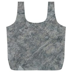 SILVER TRAVERTINE Full Print Recycle Bags (L)
