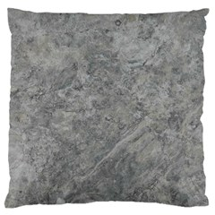 SILVER TRAVERTINE Standard Flano Cushion Cases (Two Sides)