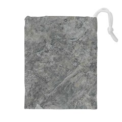 SILVER TRAVERTINE Drawstring Pouches (Extra Large)