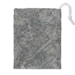SILVER TRAVERTINE Drawstring Pouches (XXL)