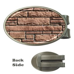 SANDSTONE BRICK Money Clips (Oval)