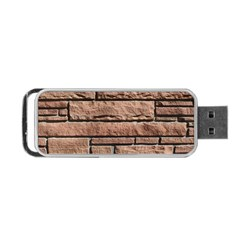 SANDSTONE BRICK Portable USB Flash (Two Sides)