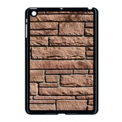 SANDSTONE BRICK Apple iPad Mini Case (Black)