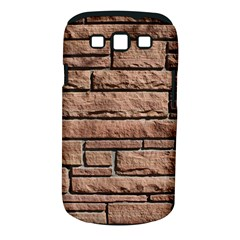 SANDSTONE BRICK Samsung Galaxy S III Classic Hardshell Case (PC+Silicone)