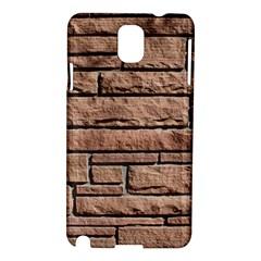 SANDSTONE BRICK Samsung Galaxy Note 3 N9005 Hardshell Case