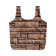 SANDSTONE BRICK Full Print Recycle Bags (M)