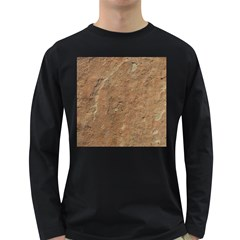 SANDSTONE Long Sleeve Dark T-Shirts