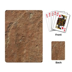 SANDSTONE Playing Card