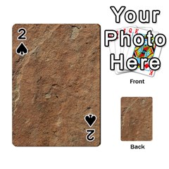 Sandstone Playing Cards 54 Designs