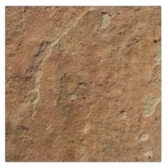 SANDSTONE Large Satin Scarf (Square)