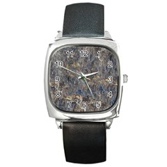 RUSTY STONE Square Metal Watches