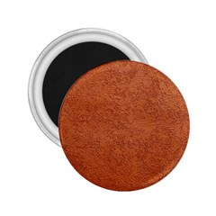 RUST COLORED STUCCO 2.25  Magnets