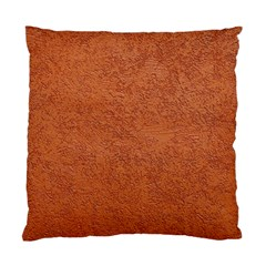 RUST COLORED STUCCO Standard Cushion Cases (Two Sides)