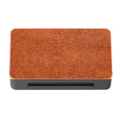 Rust Colored Stucco Memory Card Reader With Cf