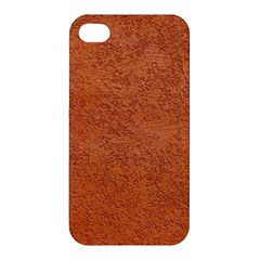 RUST COLORED STUCCO Apple iPhone 4/4S Hardshell Case
