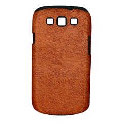 RUST COLORED STUCCO Samsung Galaxy S III Classic Hardshell Case (PC+Silicone)