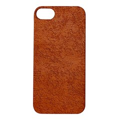 RUST COLORED STUCCO Apple iPhone 5S Hardshell Case