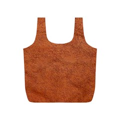Rust Colored Stucco Full Print Recycle Bags (s)