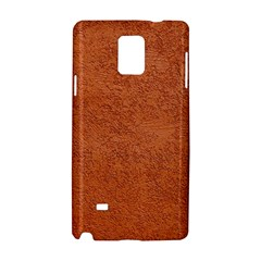 RUST COLORED STUCCO Samsung Galaxy Note 4 Hardshell Case