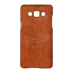Rust Colored Stucco Samsung Galaxy A5 Hardshell Case